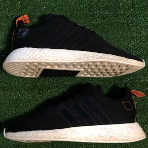 "Adidas NMD R2 ""Future Harvest"" Black/Red/White"